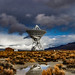 NRAO Telescope After A Winter Storm (Owens Valley)