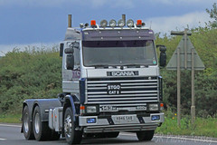 Scania 143H K846 SAB (SR Photos Torksey) Tags: transport truck haulage hgv lorry lgv logistics road commercial vehicle freight traffic scania 143h