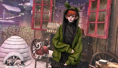 335 | small treasure (Jin (Jarhly Resident)) Tags: winter christmas snow mudskin genustrong boy chuing arcade tram rh ionic jian