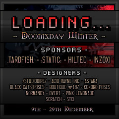 Loading... Event - Doomsday Winter - December Round Poster (HILTED) Tags: loading event second life gamer