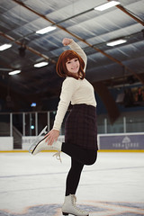 Confident on Ice「My Hero Academia」 (Leonidas-from-XIV) Tags: provia provia100 gimp gmic darktable nikon d750 tamronsp70200mmf28divcusd tamronsp70200f28divcusd cosplay portrait girl