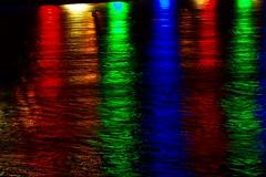 Fleuve arc en ciel. (Jonathan LTX) Tags: buren anneaux lumières nuit loire nantes