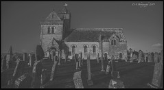 Churnside Parish Church DSC_4313 (dark-dave) Tags: graveyard graves headstones church blackandwhite landscape godslandscape scotland scottishborders chirnside