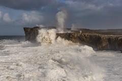 Bufones del mar (Marce Alvarez.) Tags: nikon landscape temporal asturias mar sea cantabrico pria cuerres ribadesella