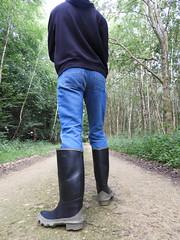 Bullseye Hood (Patrick B. Aigle) Tags: stiefel gummistiefel rubber boots bottes caoutchouc