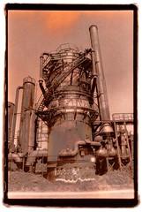 Gasworks Park V (Isosceles Diego) Tags: lith seattle minoltax700 gasworkspark seagullpaper omega washi