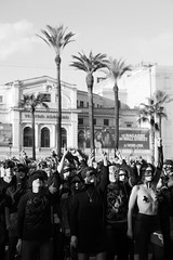6_ (Stefano Palma) Tags: unvioladorentucamino elvioladorerestu roma rome street piazza square flashmob lastesis nonunadimeno piazzacavour monochrome biancoenero women violence