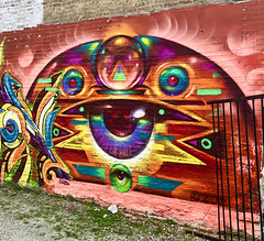 The Sixth World by Vyalone (wiredforlego) Tags: vyalone graffiti mural streetart urbanart aerosolart publicart pilsen chicago illinois ord