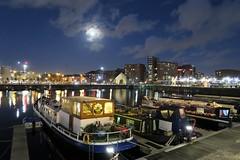 Moonlit Salthouse Dock (3991) (liverpix) Tags: royal albert dock