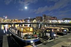 Moonlit Salthouse Dock (3996) (liverpix) Tags: royal albert dock
