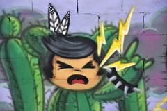 PhxGraffiti43 (ONE/MILLION) Tags: phoenix arizona streets art artist graffiti alley williestark onemillion homeless