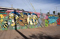 PhxGraffiti39 (ONE/MILLION) Tags: phoenix arizona streets art artist graffiti alley williestark onemillion homeless