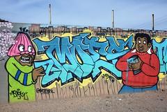 PhxGraffiti38 (ONE/MILLION) Tags: phoenix arizona streets art artist graffiti alley williestark onemillion homeless