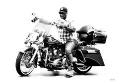ready to roll... (Stu Bo - Tks for 14 million views) Tags: highkey motorcycle sbimageworks bike kustom ride rebel blackandwhite monotone harleydavidson hd madeinusa