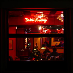 Window nine (ylzch) Tags: window fenster 24tageimdezember 24tageimdezember2019 takeaway chineserestaurant