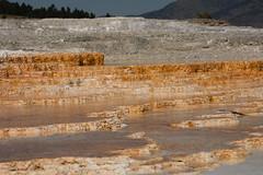 Mammoth Hot Spring Terraces 3 (Amaury Laporte) Tags: geothermal geothermalfeatures mammoth mammothhotsprings nationalpark nature northamerica usa unitedstates wyoming yellowstone