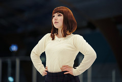 Skate Instructor「My Hero Academia」 (Leonidas-from-XIV) Tags: portra portra800 gimp gmic darktable nikon d750 tamronsp70200mmf28divcusd tamronsp70200f28divcusd cosplay portrait girl