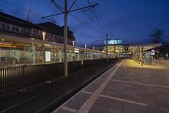 302 Ghost Train (uwe1904) Tags: 401ge 20mm architektur cityfotos citylights deutschland ge gebäude gelsenkirchen licht lichter pentaxk1 ruhrpott samyang stadtlandschaft uwerudowitz outddors langzeitbelichtung nrw