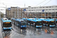 Trolleywoud (Maurits van den Toorn) Tags: trolleybus bus obus arnhem hess berkhof regen rain publictransport