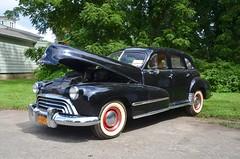 1948 Oldsmobile 76 (Joe Shlabotnik) Tags: august2019 oldsmobile southold antiquecar 2019 northfork afsdxvrzoomnikkor18105mmf3556ged