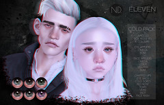 ELEVEN & ND - Cold Pack @ Okinawa Event - Dec 11th (Master Glendevon) Tags: second life secondlife sl collab eleven nd axel flu cold eyes appliers kawaii sick okinawa event