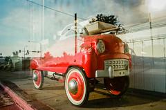 Toy car (chris houkal) Tags: car toy film minolta davenport iowa 2016