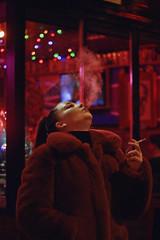 Lucy (TheJennire) Tags: photography fotografia foto photo canon camera camara colours colores winter cores light luz young tumblr indie teen adolescentcontent smoking cigarette 2019 toronto canada holidays bokeh retro coat fashion youtuber
