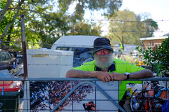 The Collector (Erich Schieber) Tags: people portrait beard gate australia