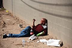 PhxGraffiti44 (ONE/MILLION) Tags: phoenix arizona streets art artist graffiti alley williestark onemillion homeless