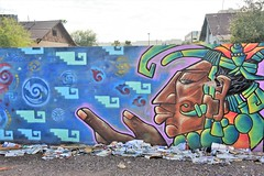 PhxGraffiti41 (ONE/MILLION) Tags: phoenix arizona streets art artist graffiti alley williestark onemillion homeless
