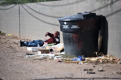 PhxGraffiti35 (ONE/MILLION) Tags: phoenix arizona streets art artist graffiti alley williestark onemillion homeless
