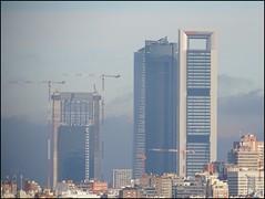 Madrid (Spain) (sky_hlv) Tags: cuatrotorresbusinessarea cuatrotorres skyline skyscraper skyscrapers rascacielos edificio building madrid españa spain europe europa ctba