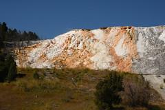 Mammoth Hot Springs 2 (Amaury Laporte) Tags: geothermal geothermalfeatures mammoth mammothhotsprings nationalpark nature northamerica usa unitedstates wyoming yellowstone
