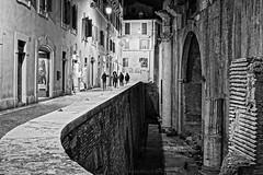 Piazza della Rotonda (Pantheon) Old Film Style Rendering BW, Rome (Claudio_R_1973) Tags: rome roma piazzadellarotonda pantheon blackandwhite bw urban street landscape grainy noisy vintage architecture italy italia lazio