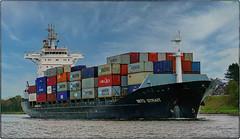 191210-1 (sz227) Tags: mitostrait containerschiff containerfeeder schiff vessel nordostseekanal kielcanal sehestedt sz227 zackl lumixfz1000 lumix