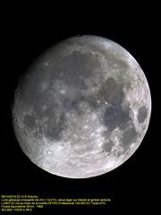 Vaureal-Ciel 2019 (Rolumix-) Tags: moon lune astroprofessional lunette130edf69tripletapo lunegibbeusecroissante astrophotographie lumixdcg9 panasonic μ43 mft m43 refractor