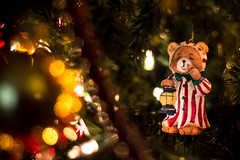 Christmas Teddy Bear (valan90) Tags: christmasdecoration teddybear