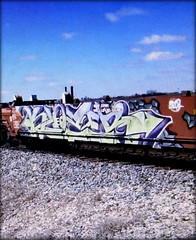 klozer (timetomakethepasta) Tags: klozer lmk doc cbs freight train graffiti art intermodal