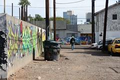 PhxGraffiti36 (ONE/MILLION) Tags: phoenix arizona streets art artist graffiti alley williestark onemillion homeless