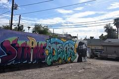 PhxGraffiti32 (ONE/MILLION) Tags: phoenix arizona streets art artist graffiti alley williestark onemillion homeless