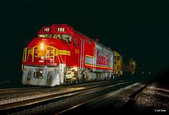 ATSF 103 at Flagstaff, AZ (thechief500) Tags: atsf arizonadivide bnsf railroads seligmansubdivision flagstaff az usa santaferailway arizona