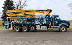 Pompage Elite Inc. Truck (raserf) Tags: pompage elite inc truck trucks concrete cement pump pumper pumping mack putzmeister sturtevant wisconsin racine county monteregie montreal quebec canada