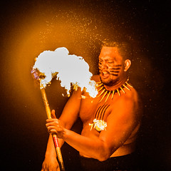 Night on Fire (Thomas Hawk) Tags: america finnestate hawaii makena maui turtlepointestate usa unitedstates unitedstatesofamerica wailea waileaelua fire firedancer firedancing kihei fav10 fav25 fav50