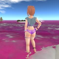 Naylan Femboi 6 (naylankitten) Tags: secondlife kemono neko femboy swimsuit bikini barefoot