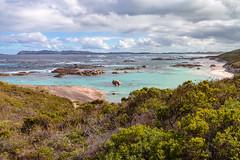 Green Pool. Denmark (christorrington) Tags: greenspool sandy white beach boulders westernaustralia denmark walpole granite southernocean williambaynationalpark