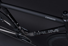 GTB 3/4, Matte Black Metallic, Sram Red, X-Power Grey, ORBIS (Baum Cycles) Tags: baum