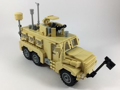 Cougar HE 6x6 (2) (Lonnie.96) Tags: lego brick moc own creation 2019 december australia united states america usa army defence force mrap mine amour protection ied improvised explosive devise cougar 6x6 wheel tan truck troops model 50 caliber m203 scale 26 1m afghanistan deployed forces window recent