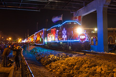 Holiday Train (Trainboy03) Tags: canadian pacific holiday train cp 2246 davenport iowa