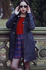 NYC, 2018 (TheJennire) Tags: photography fotografia foto photo canon camera camara colours colores cores light luz young tumblr indie teen adolescentcontent ootd outfit 2018 winter centralpark nyc newyork ny usa eua unitedstates 50mm sunglasses