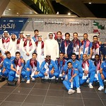 kuwait National Team arrives to hamad airport 24-11900